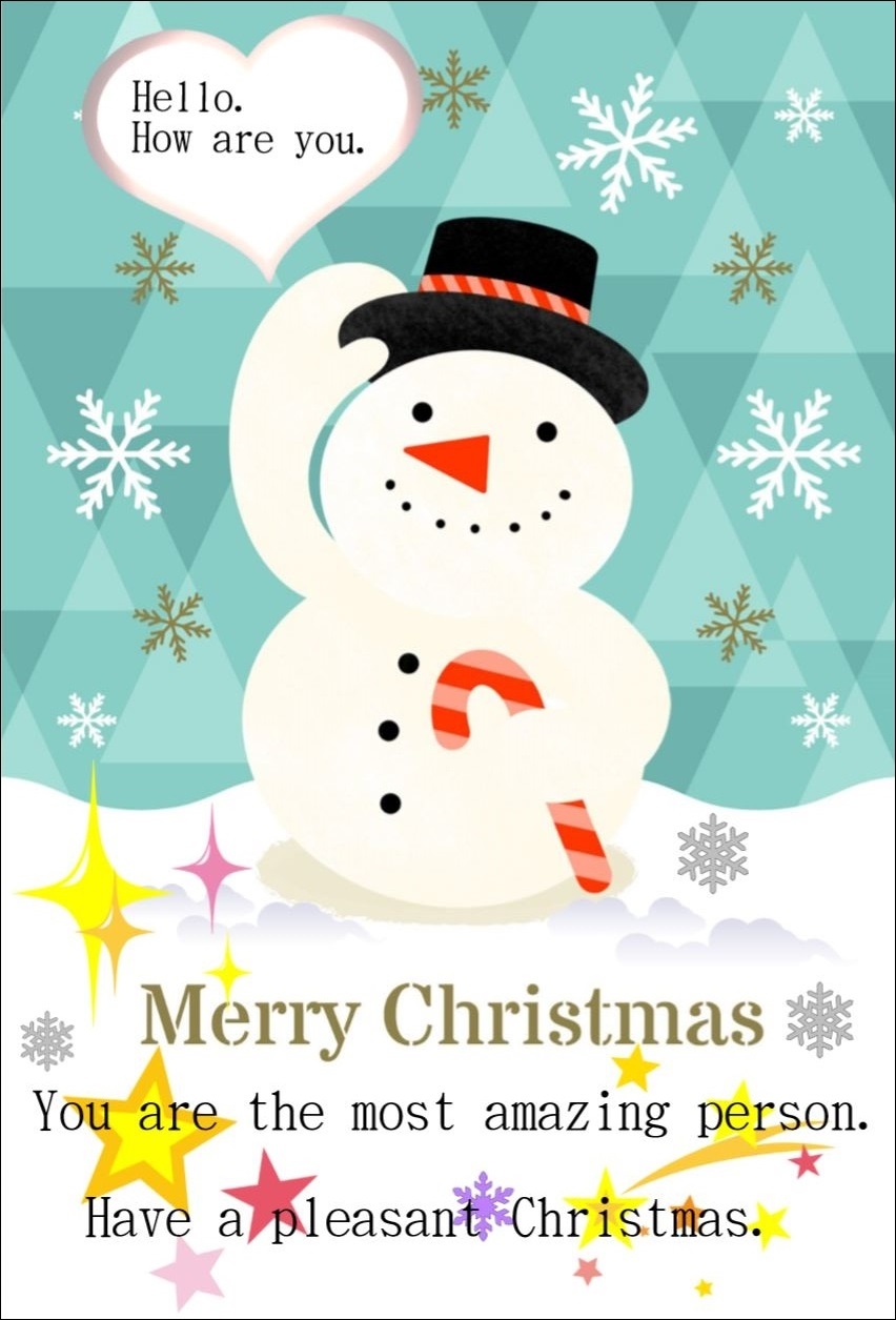 ネトさんクリスマスカード